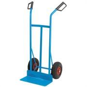 Carrello portapacchi con ruote pneumatiche